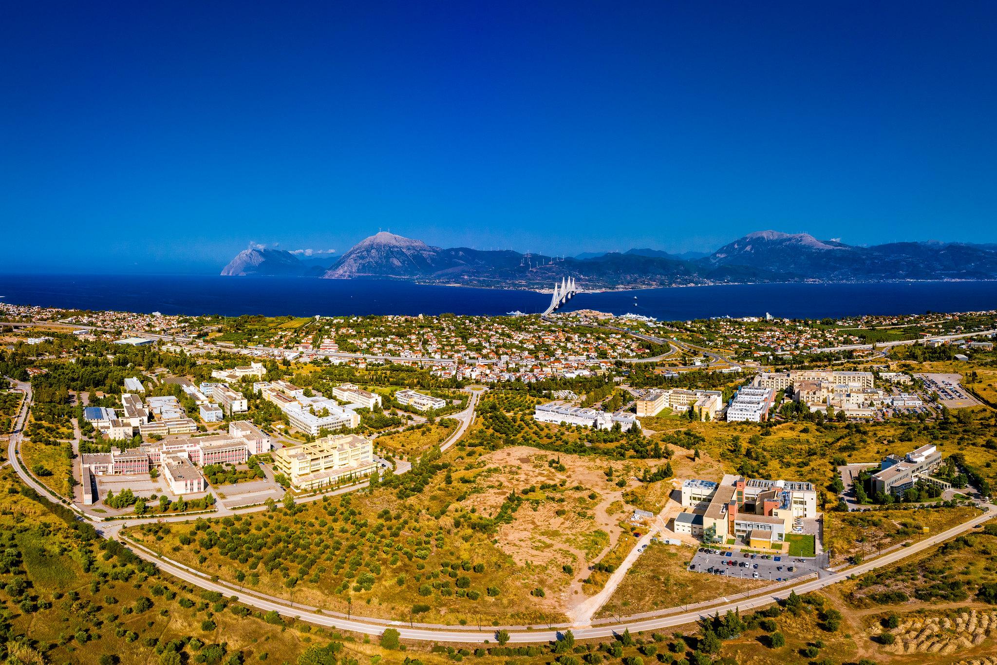 Πανεπιστημιούπολη Ριο - Αεροφωτογραφία