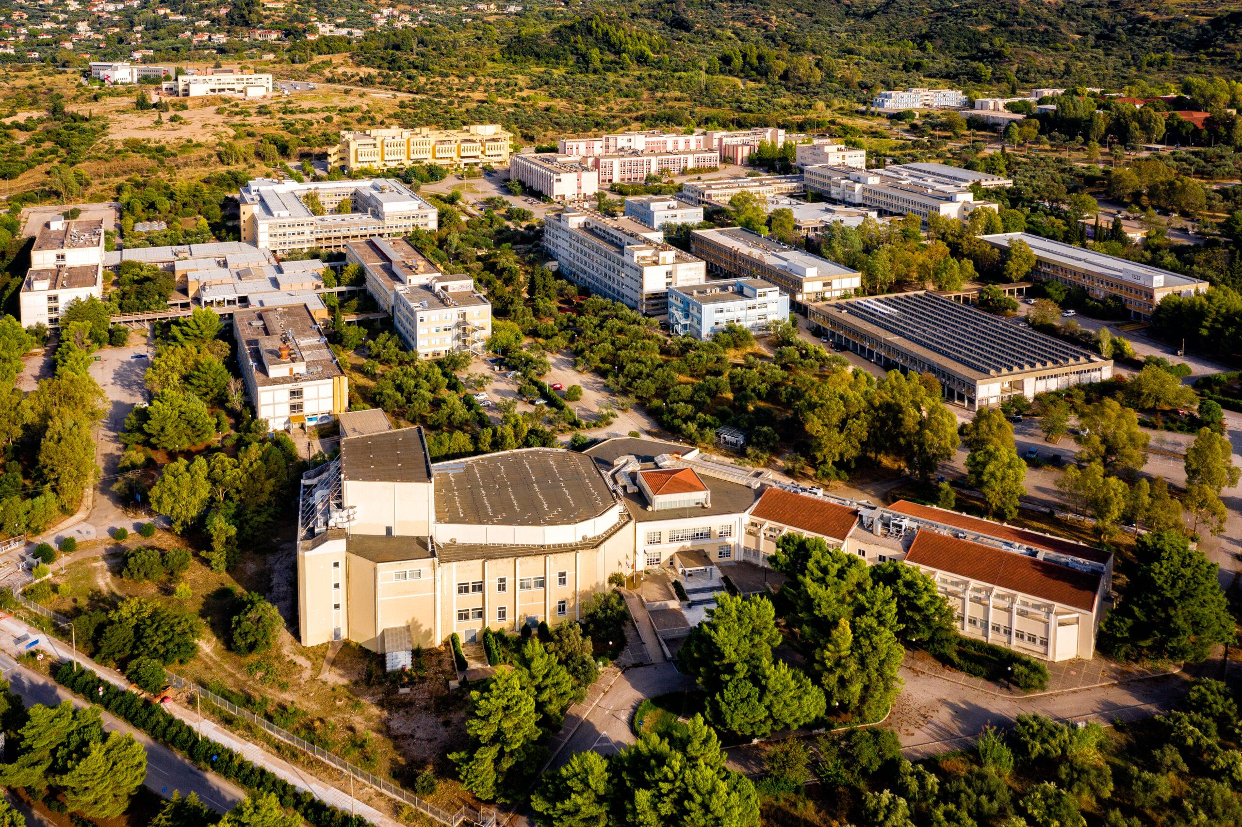 Πανεπιστήμιο Πατρών- Αεροφωτογραφία